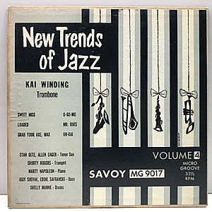 レコード画像:KAI WINDING / STAN GETZ / New Trends Of Jazz Volume 4