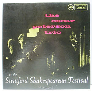 レコード画像:OSCAR PETERSON / At The Stratford Shakespearean Festival