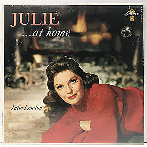 レコード画像:JULIE LONDON / Julie... At Home