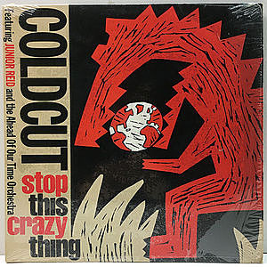 レコード画像:COLDCUT / JUNIOR REID / Stop This Crazy Thing