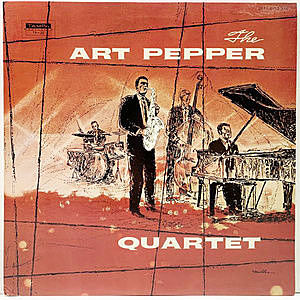 レコード画像:ART PEPPER / The Art Pepper Quartet