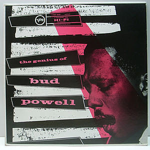 レコード画像:BUD POWELL / The Genius of Bud Powell