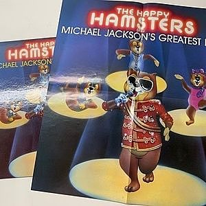 レコード画像:HAPPY HAMSTERS / The Happy Hamsters Sing Michael Jackson's Greatest Hits