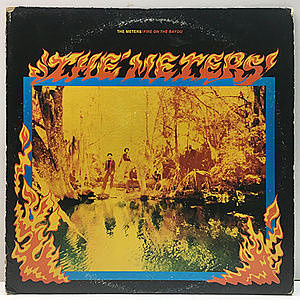 レコード画像:METERS / Fire On The Bayou