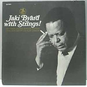 レコード画像:JAKI BYARD / Jaki Byard With Strings!