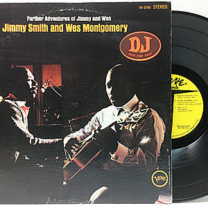 レコード画像:JIMMY SMITH / WES MONTGOMERY / Further Adventures Of Jimmy Smith & Wes Montgomery