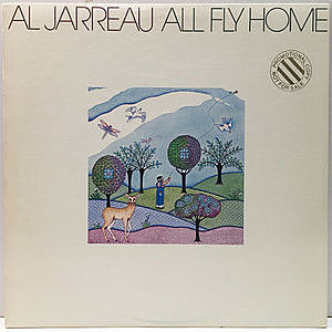 レコード画像:AL JARREAU / All Fly Home