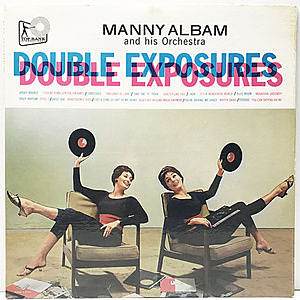 レコード画像:MANNY ALBAM / Double Exposures