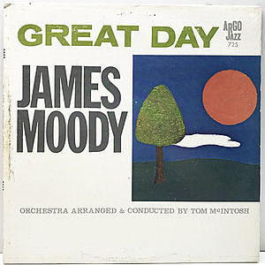 レコード画像:JAMES MOODY / Great Day