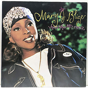 レコード画像:MARY J BLIGE / What's The 411? Remix
