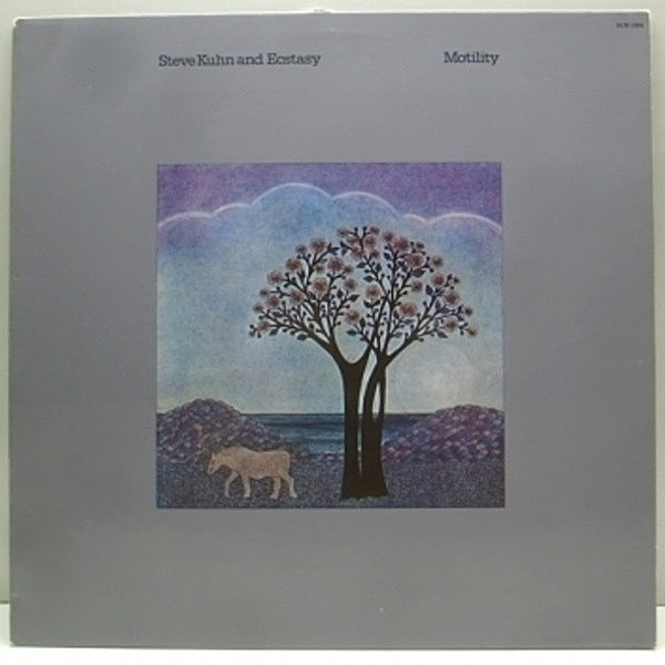 レコードメイン画像:極美盤 W.GERMANY オリジ STEVE KUHN and Ecstasy Motility ECM