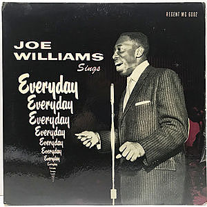レコード画像:JOE WILLIAMS / Sings Everyday
