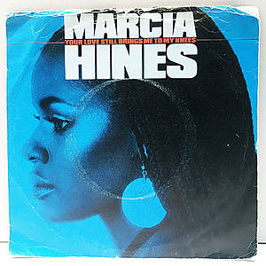 レコード画像:MARCIA HINES / Your Love Still Brings Me To My Knees