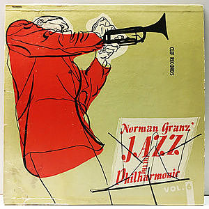 レコード画像:NORMAN GRANZ / JAZZ AT THE PHILHARMONIC / Norman Granz' Jazz At The Philharmonic Vol.6