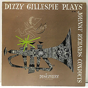 レコード画像:DIZZY GILLESPIE / Dizzy Gillespie Plays & Johnny Richards Conducts