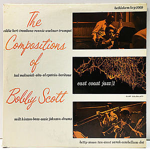 レコード画像:BOBBY SCOTT / The Compositions Of