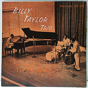 レコード画像:BILLY TAYLOR / In Concert At Town Hall, December 17, 1954
