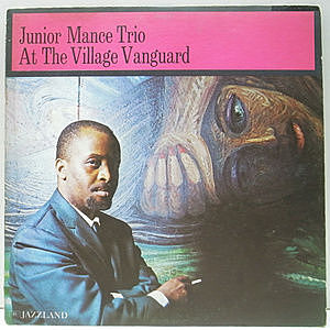 レコード画像:JUNIOR MANCE / At The Village Vanguard