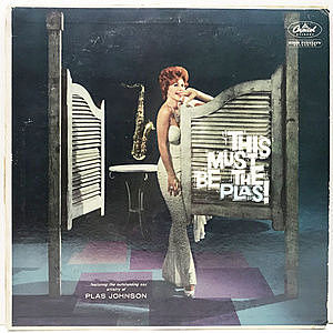 レコード画像:PLAS JOHNSON / This Must Be The Plas