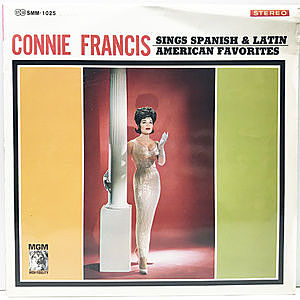 レコード画像:CONNIE FRANCIS / Sings Spanish & Latin American Favorites