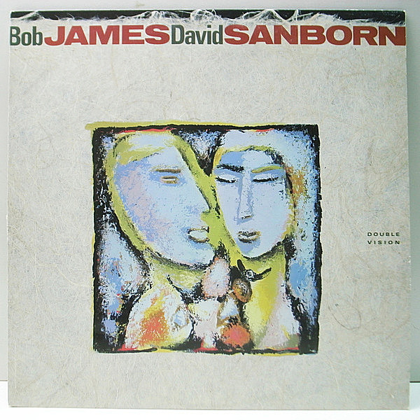 レコードメイン画像:美品《RCA, Club Edition》USオリジナル BOB JAMES, DAVID SANBORN Double Vision ('86 Warner) Al Jarreau, Eric Gale, Marcus Miller 他