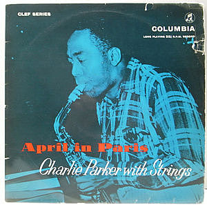 レコード画像:CHARLIE PARKER / April In Paris