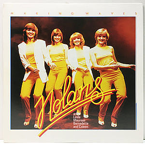 レコード画像:NOLANS / Making Waves
