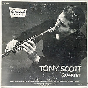 レコード画像:TONY SCOTT / Tony Scott Quartet