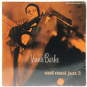 レコード画像:VINNIE BURKE / East Coast Jazz #2
