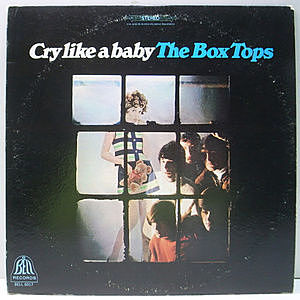 レコード画像:BOX TOPS / Cry Like A Baby