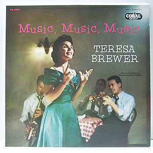 レコード画像:TERESA BREWER / Music, Music, Music