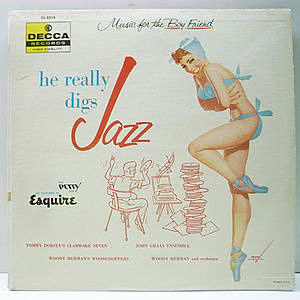レコード画像:VARIOUS / JOHN GRAAS / Music For The Boy Friend He Really Digs Jazz