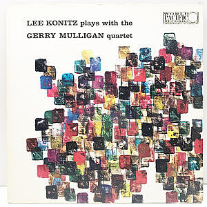 レコード画像:GERRY MULLIGAN / LEE KONITZ / Lee Konitz Plays With The Gerry Mulligan Quartet