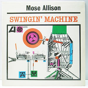 レコード画像:MOSE ALLISON / Swingin' Machine
