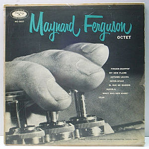 レコード画像:MAYNARD FERGUSON / Maynard Ferguson And His Octet