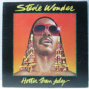 レコード画像:STEVIE WONDER / Hotter Than July