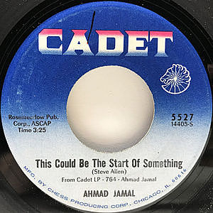 レコード画像:AHMAD JAMAL / This Could Be The Start Of Something / The Shadow Of Your Smile