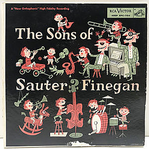 レコード画像:SONS OF SAUTER-FINEGAN / Same
