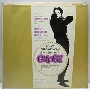 レコード画像:ANNIE ROSS and Buddy Bregman & His Orchestra / Gypsy