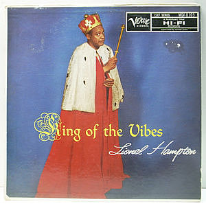レコード画像:LIONEL HAMPTON / King Of The Vibes