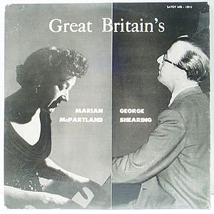 レコード画像:MARIAN MCPARTLAND / GEORGE SHEARING / Great Britain's