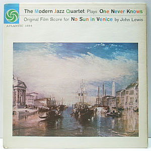 レコード画像:MODERN JAZZ QUARTET / Plays One Never Knows