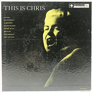 レコード画像:CHRIS CONNOR / This Is Chris