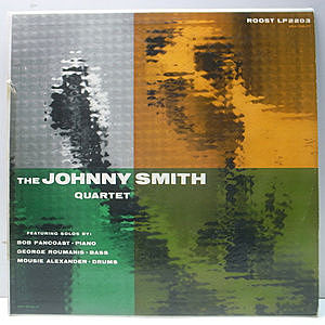レコード画像:JOHNNY SMITH / The Johnny Smith Quartet