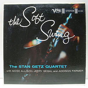 レコード画像:STAN GETZ / The Soft Swing