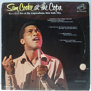 レコード画像:SAM COOKE / At The Copa