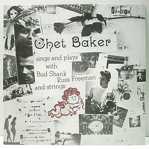 レコード画像:CHET BAKER / Sings And Plays With Bud Shank, Russ Freeman And Strings