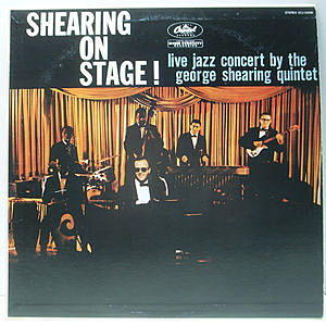 レコード画像:GEORGE SHEARING / Shearing On Stage!