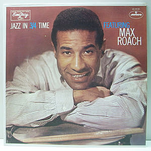 レコード画像:MAX ROACH / Jazz In 3/4 Time