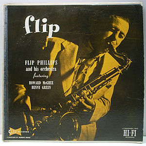 レコード画像:FLIP PHILLIPS / HOWARD MCGHEE / BENNY GREEN / Flip